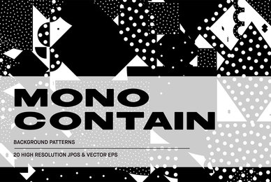 Mono Contain   Background Patterns