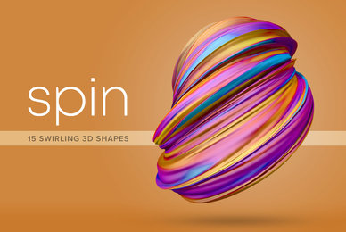 Spin     Dynamic 3D Shapes