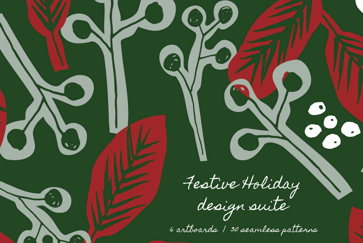 Festive Holiday Design Suite
