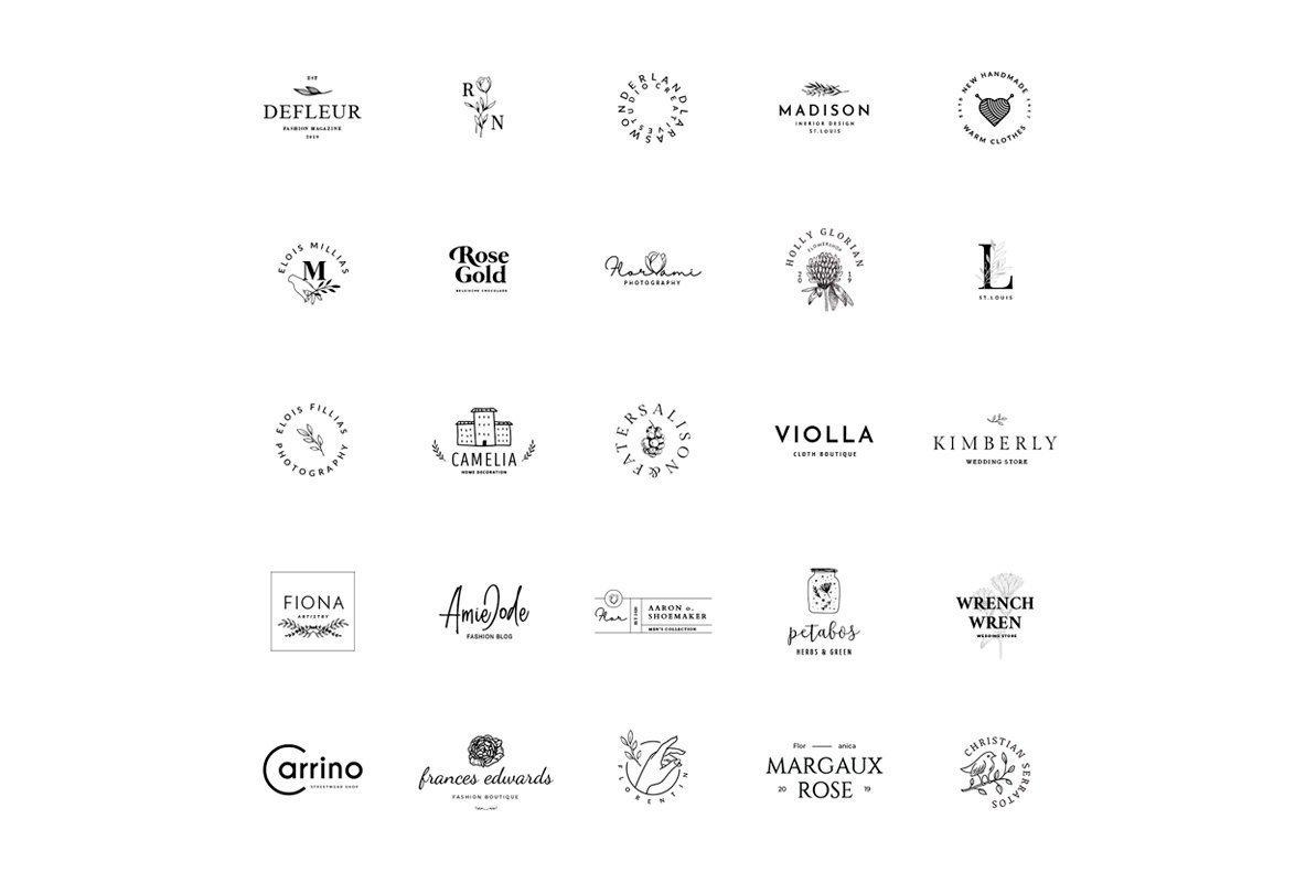 Camelia   50 Premium Logo Templates