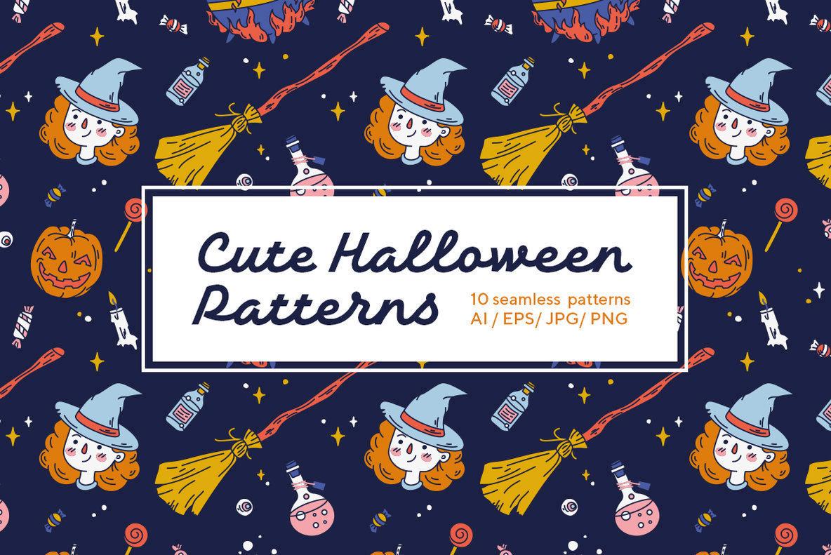 Cute Halloween Patterns