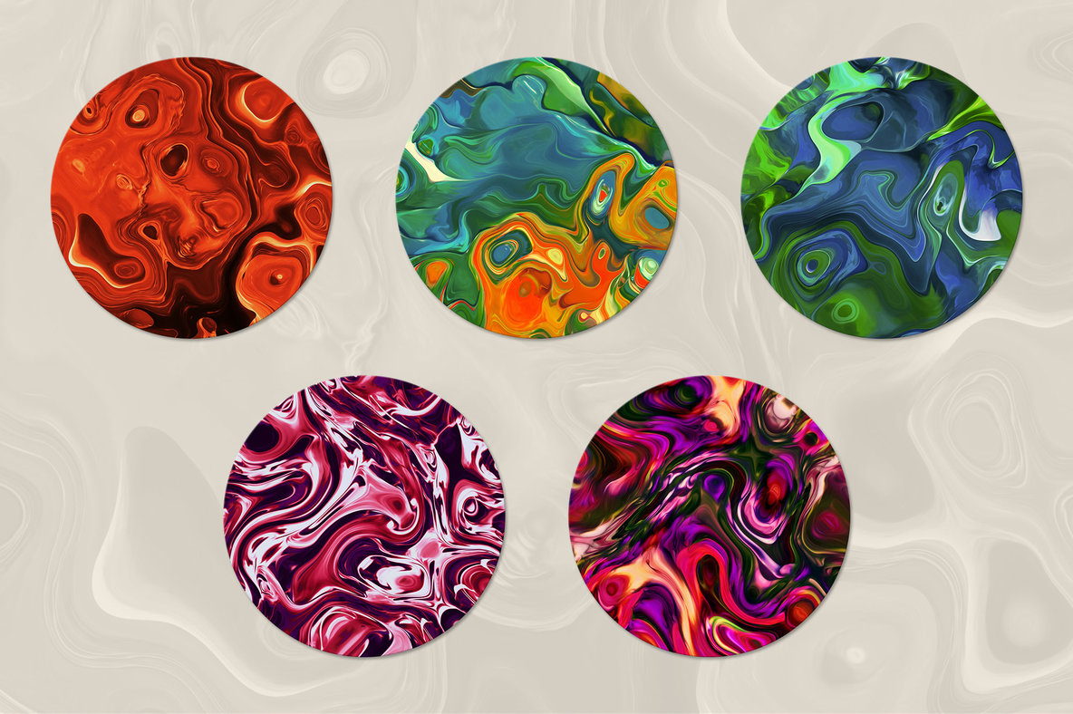 Swirled   15 Abstract Marble Textures