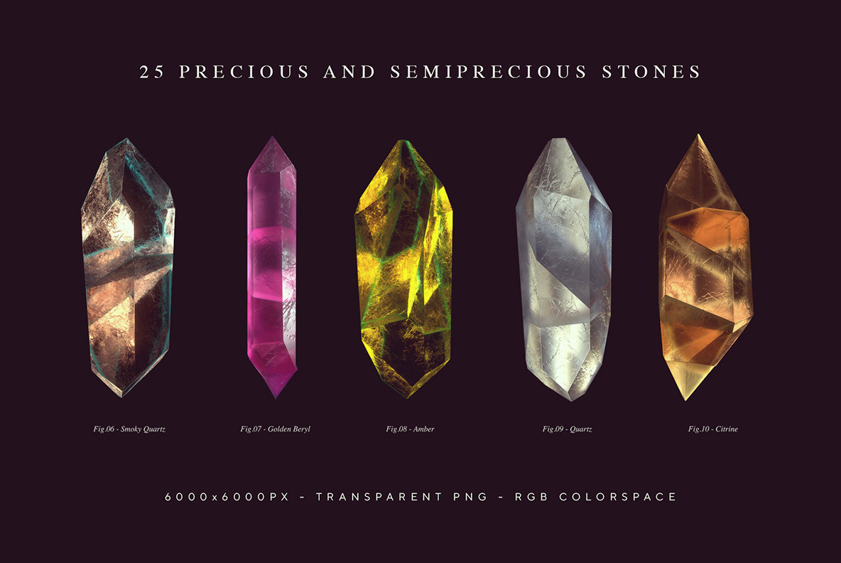 Gemstones   Crystals