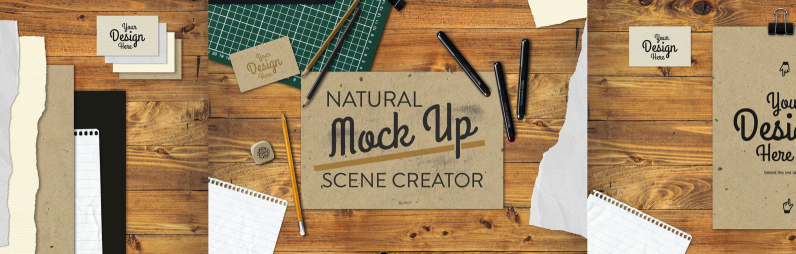 Natural Mock Up Scene Creator