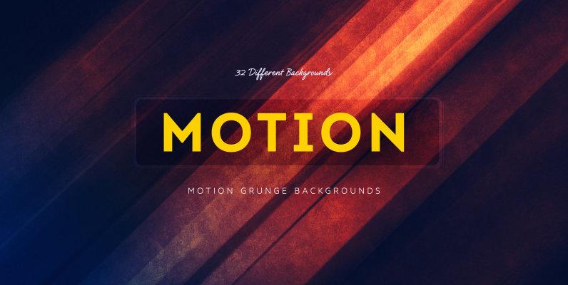 Motion Grunge Backgrounds