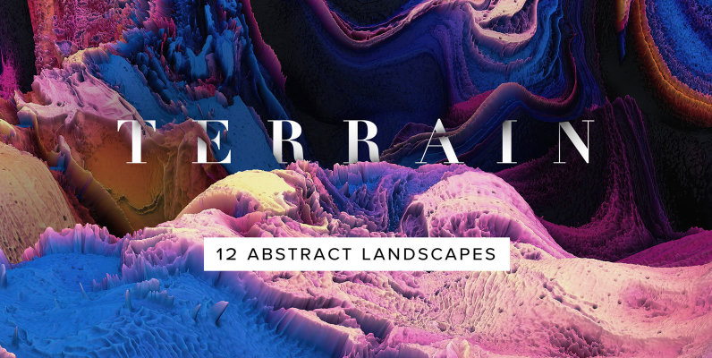 Terrain - Abstract 3D Landscapes
