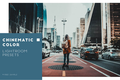 Cinematic Color Lightroom Preset