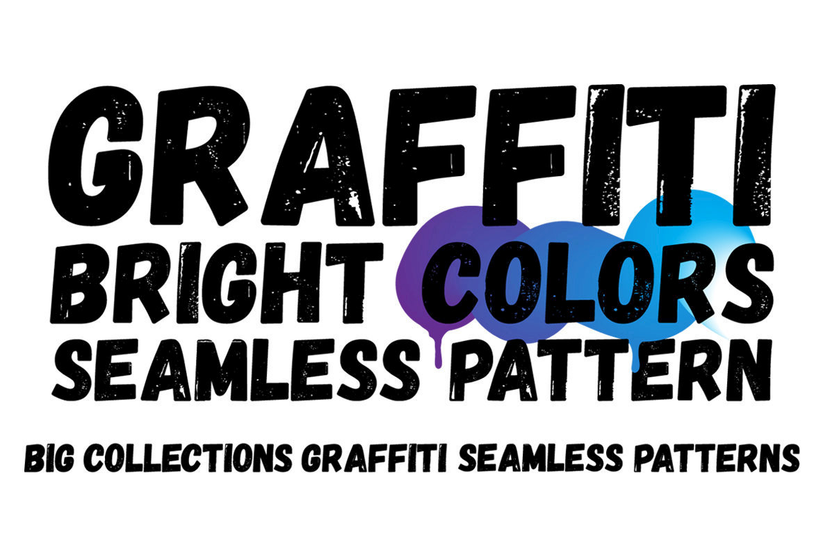 Graffiti Color Seamless Patterns