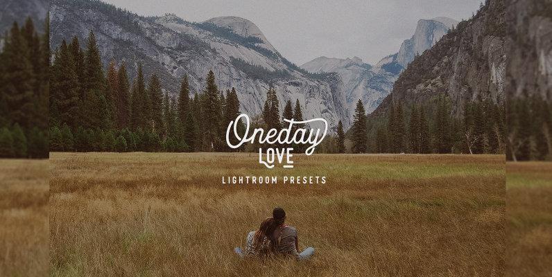 Oneday Love Lightroom Preset
