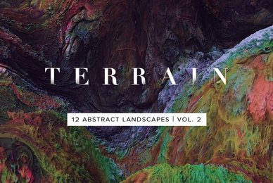 Terrain Vol 2   Abstract 3D Landscapes
