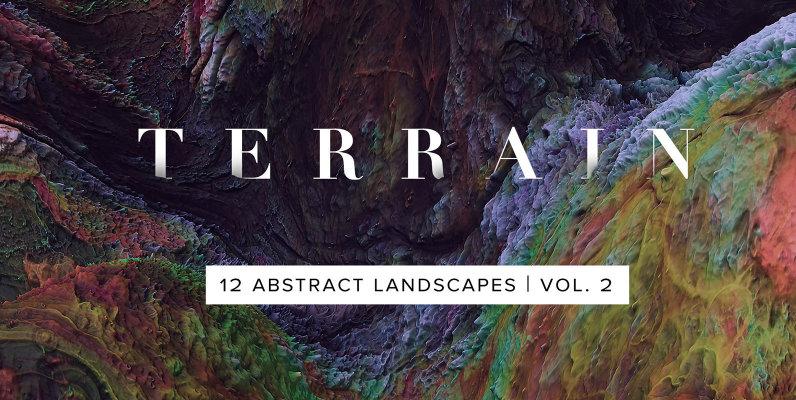 Terrain Vol 2   Abstract 3D Landscapes