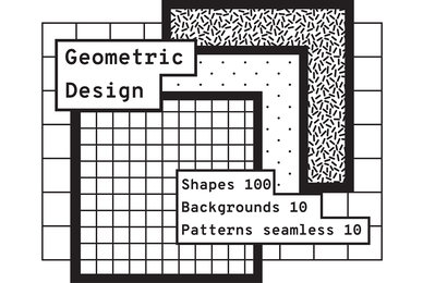 Geometric Design Shapes   Patterns