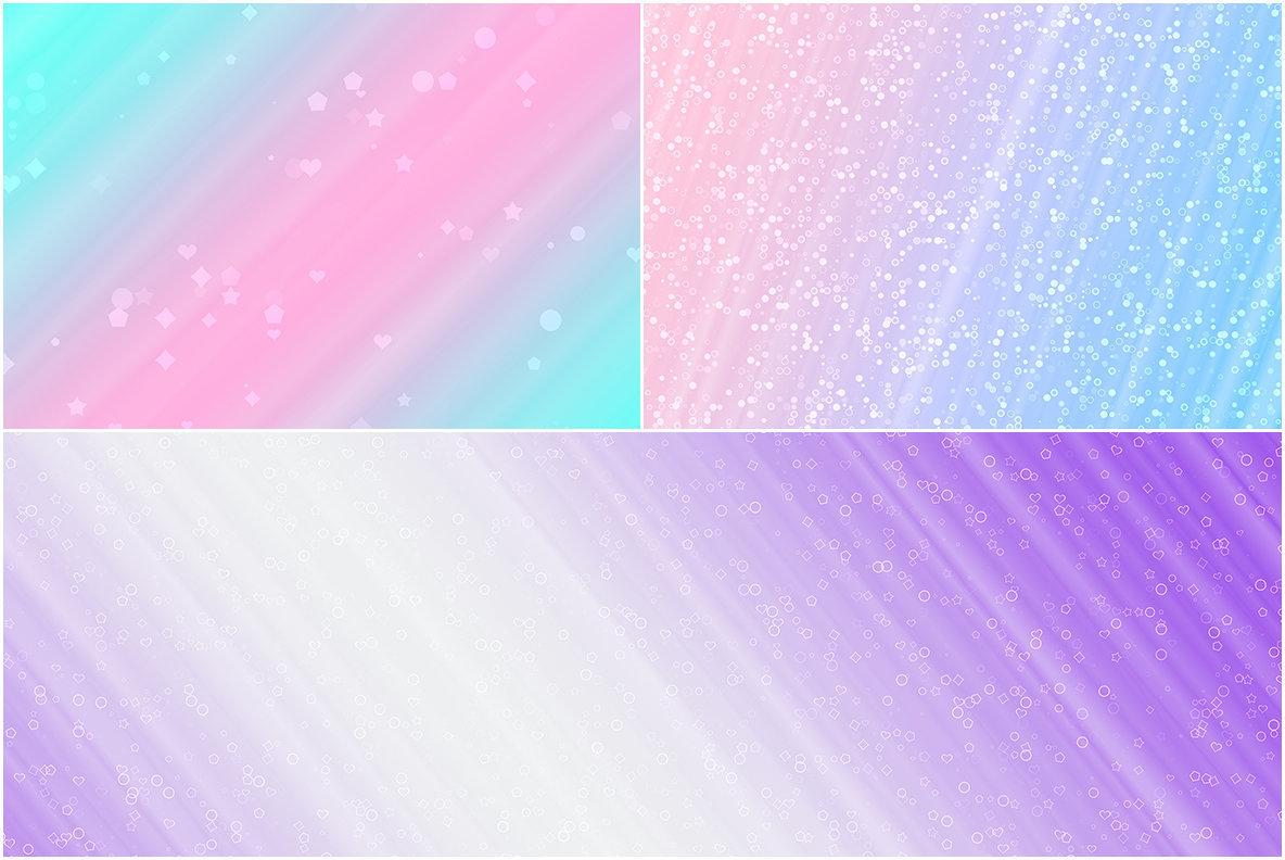 10 Confetti Glitter Backgrounds