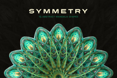 Symmetry     15 Abstract Mandala Shapes