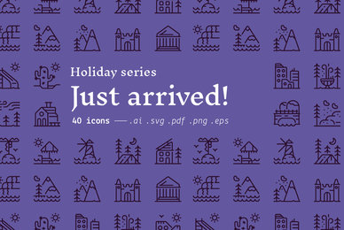 Just arrived    Holiday Icons