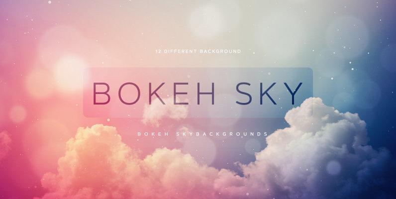 Bokeh Sky Backgrounds