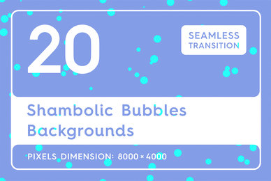 20 Shambolic Bubbles Backgrounds
