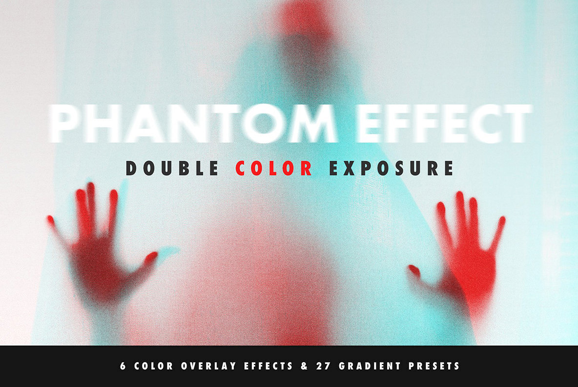 Double Color Exposure Effect