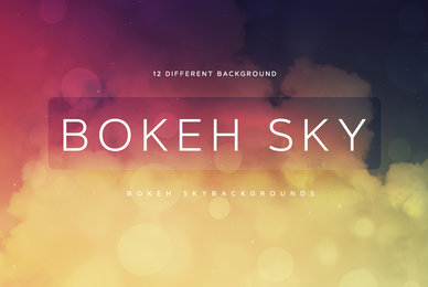 Bokeh Sky Backgrounds 02