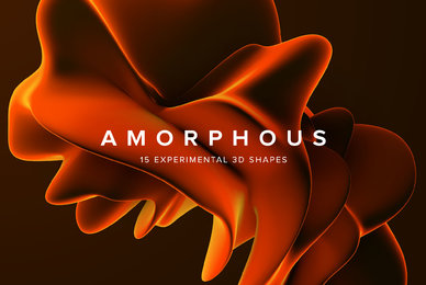 Amorphous   15 Experimental 3D Shapes