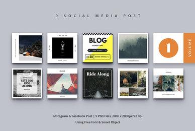 Social Media Post Vol  1