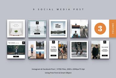Social Media Post Vol  3