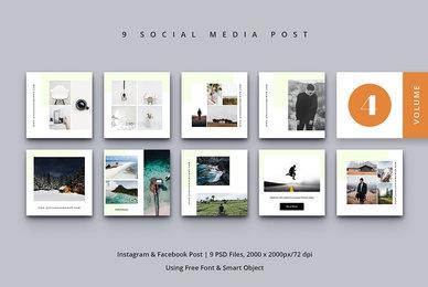 Social Media Post Vol  4