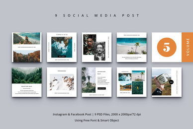 Social Media Post Vol  5