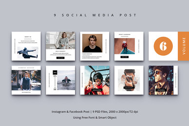 Social Media Post Vol  6