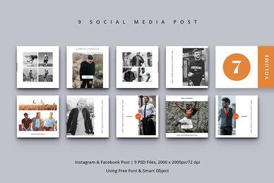 Social Media Post Vol  7