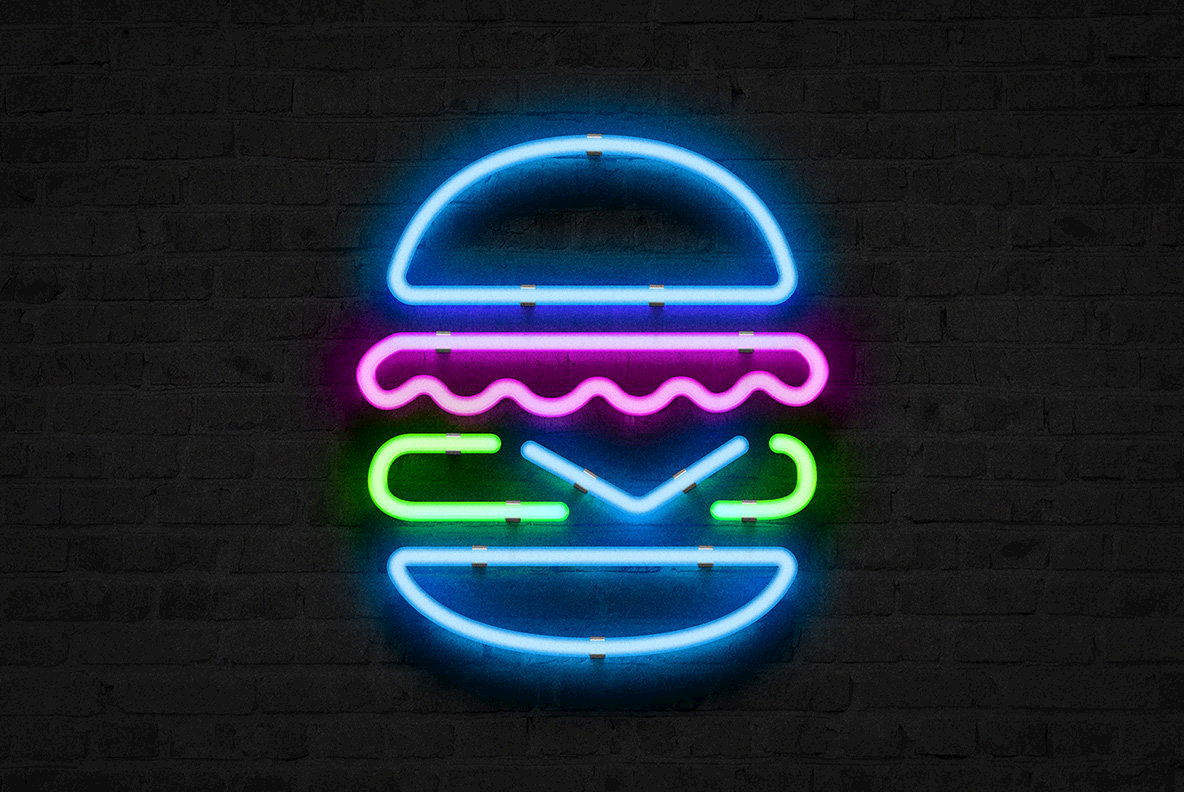 Neon Sign Photoshop Effect Extras Youworkforthem