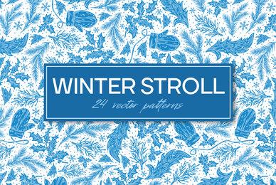 Winter Stroll Patterns