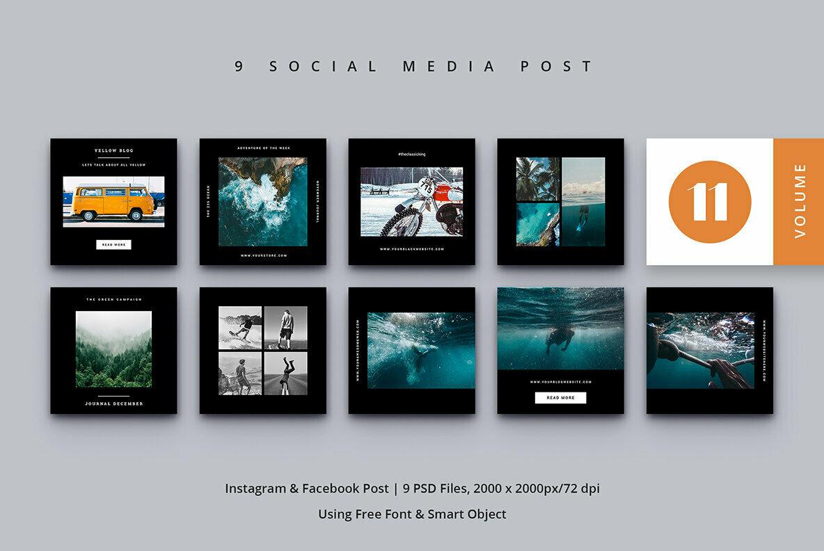 Social Media Post Vol  11