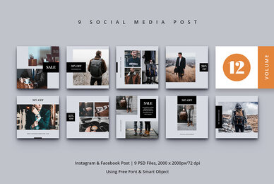 Social Media Post Vol  12