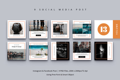 Social Media Post Vol  13