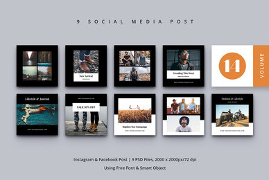 Social Media Post Vol  14