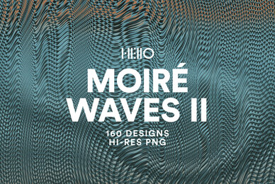 Moire Waves II