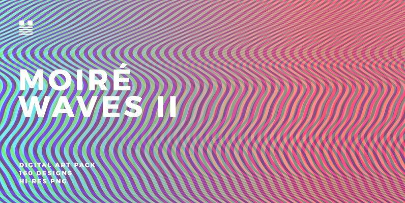 Moire Waves II