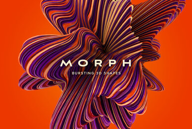 Morph   Bursting 3D shapes