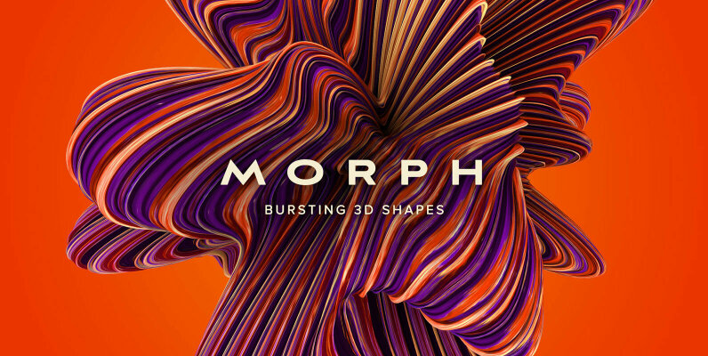 Morph - Bursting 3D shapes