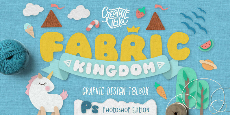 Fabric Kingdom Photoshop Edition