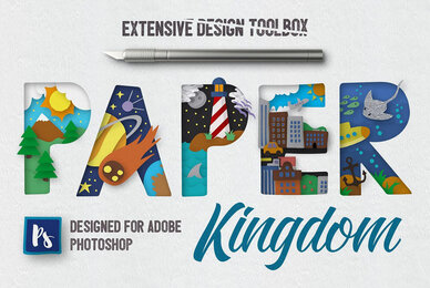 Paper Kingdom For Photoshop