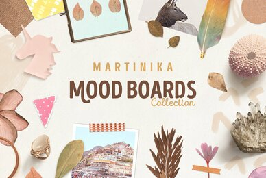 Martinika Mood Boards Collection