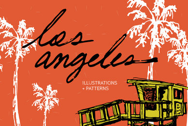 Los Angeles Illustrations and Patterns