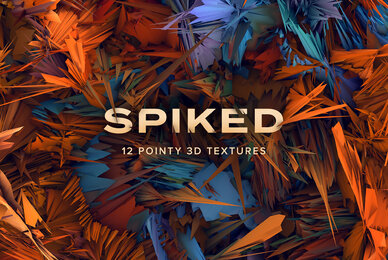 Spiked   12 Pointy 3D Textures