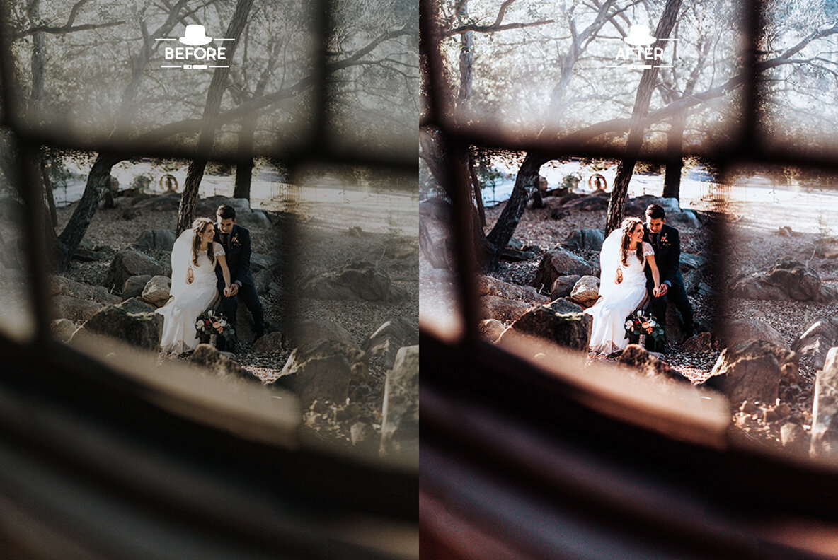 Moody Wedding Lightroom Presets