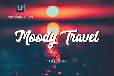 Moody Travel Lightroom Presets