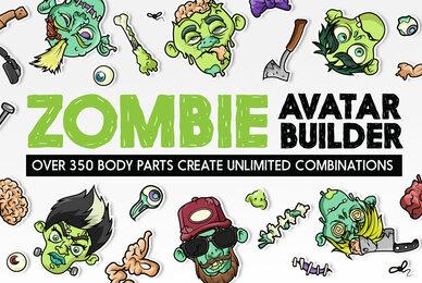 Zombie Avatar Builder