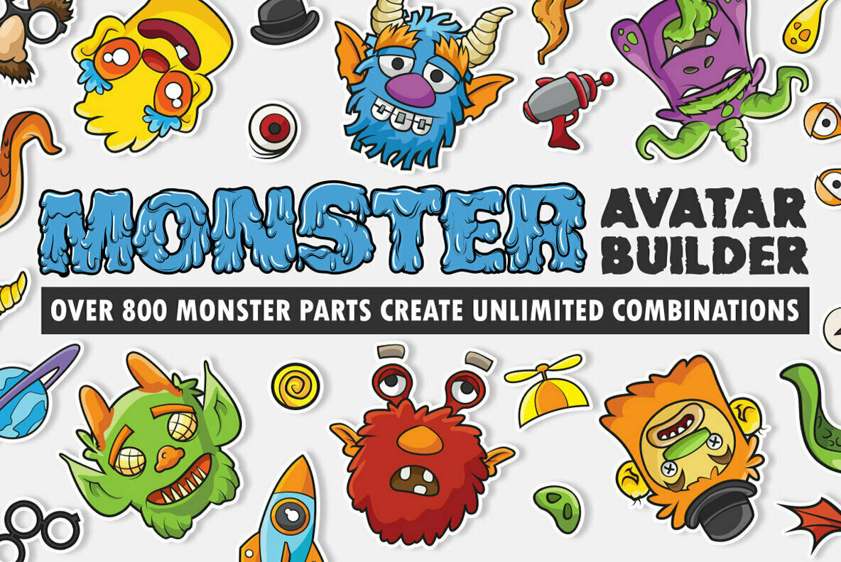 Monster Avatar Builder