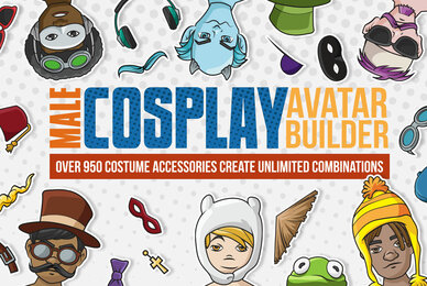 Male Cosplay Avatar Builder
